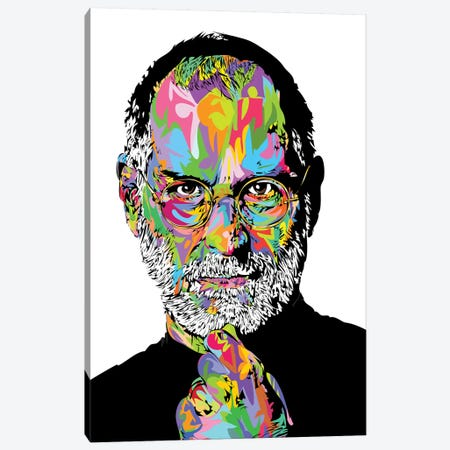 Jobs White 2020 Canvas Print #TDR358} by TECHNODROME1 Canvas Artwork