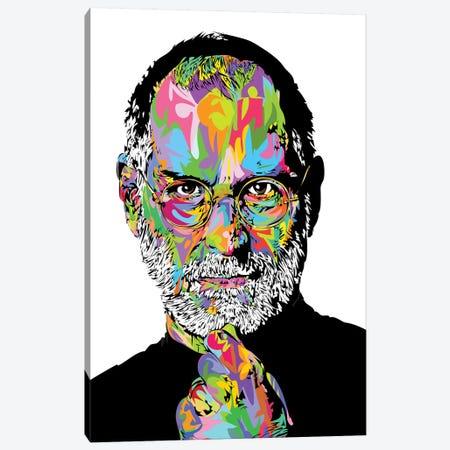 Jobs White 2020 Canvas Print #TDR358} by TECHNODROME1 Canvas Artwork