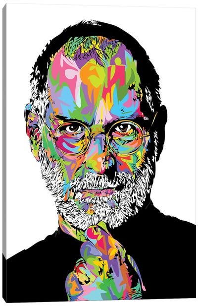 Jobs White 2020 Canvas Art Print