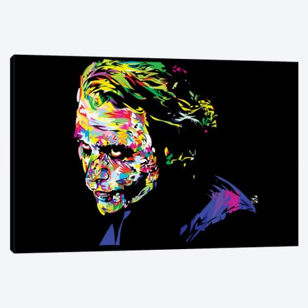 Joker II Canvas Print #TDR35} by TECHNODROME1 Canvas Artwork