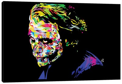 Joker II by TECHNODROME1 Canvas Artwork