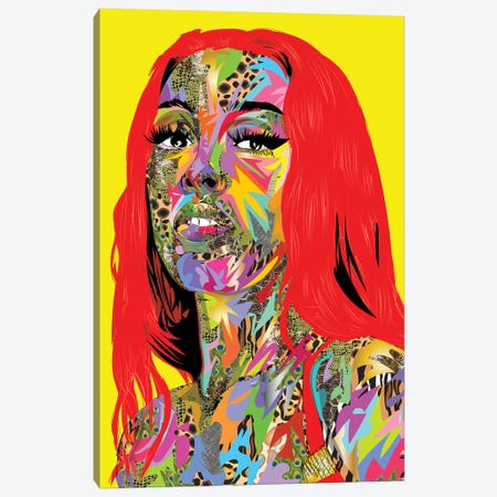 Dojacat 2020 Canvas Print #TDR361} by TECHNODROME1 Canvas Print
