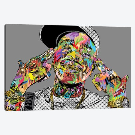 Da Baby 2020 Canvas Print #TDR364} by TECHNODROME1 Canvas Wall Art