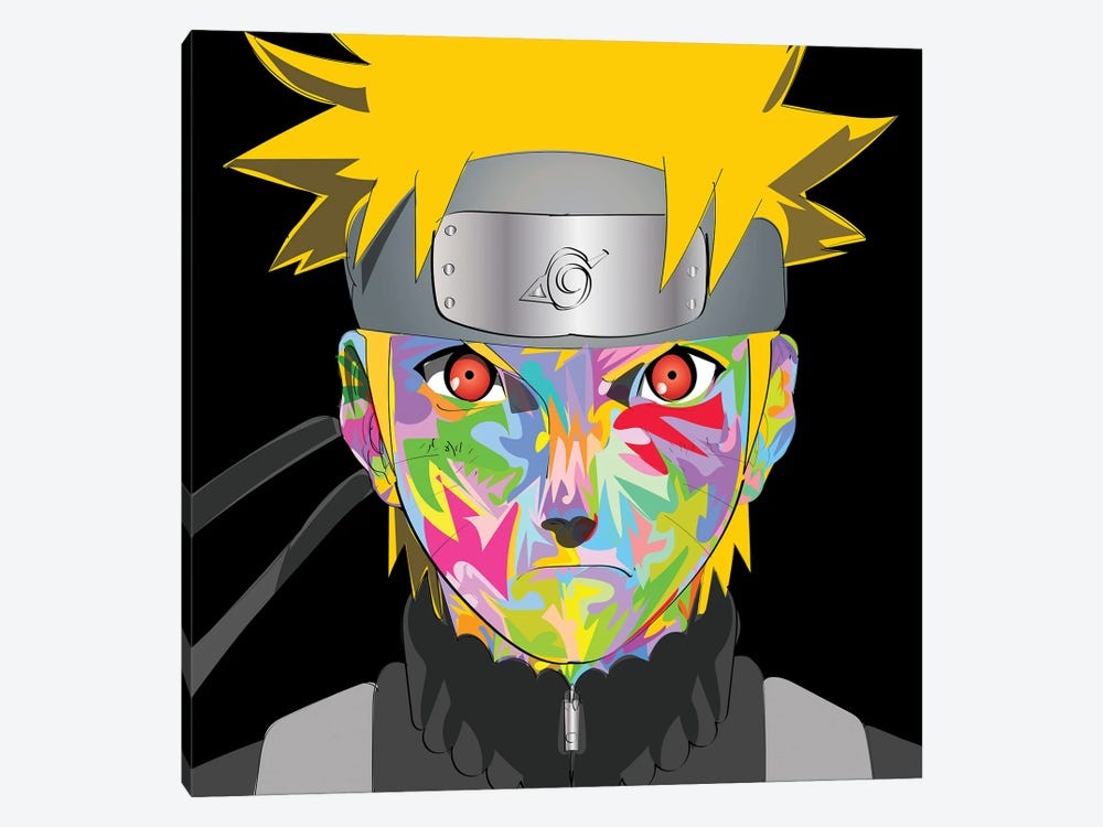 Naruto drome by TECHNODROME1 1-piece Canvas Print