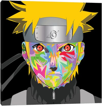 Naruto drome Canvas Art Print