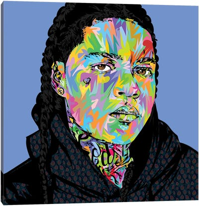 Young Ma Drone Canvas Art Print