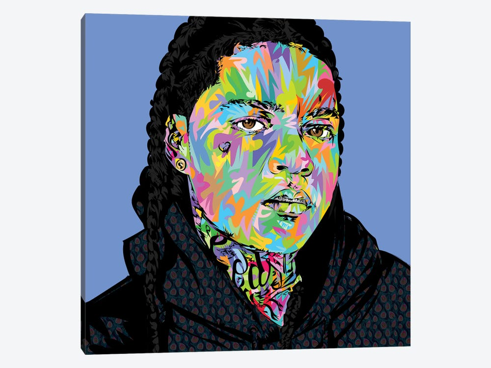 Young Ma Drone by TECHNODROME1 1-piece Canvas Art Print