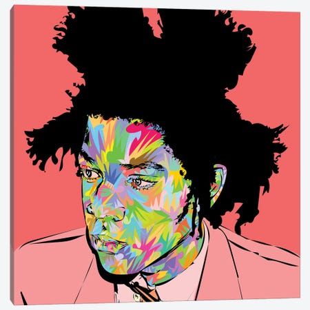 Basquiat 2020 Canvas Print #TDR375} by TECHNODROME1 Art Print