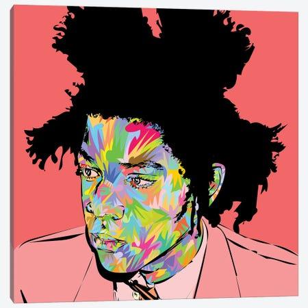 Basquiat 2020 Canvas Print #TDR375} by TECHNODROME1 Art Print