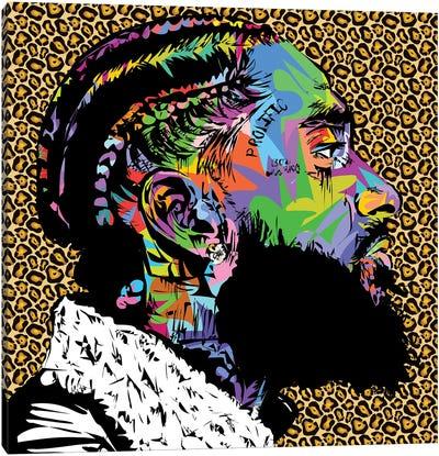 Nipsey Cheetah RIP Canvas Art Print