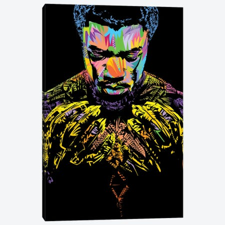 RIP Black Panther 2020 Canvas Print #TDR378} by TECHNODROME1 Canvas Artwork