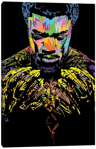 RIP Black Panther 2020 Canvas Art Print