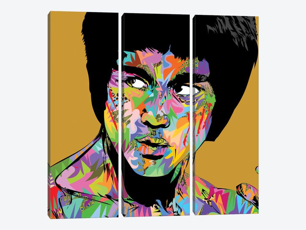 Bruce Lee 2020 by TECHNODROME1 3-piece Canvas Wall Art