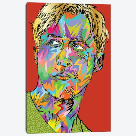 Gosling Canvas Print #TDR382} by TECHNODROME1 Art Print