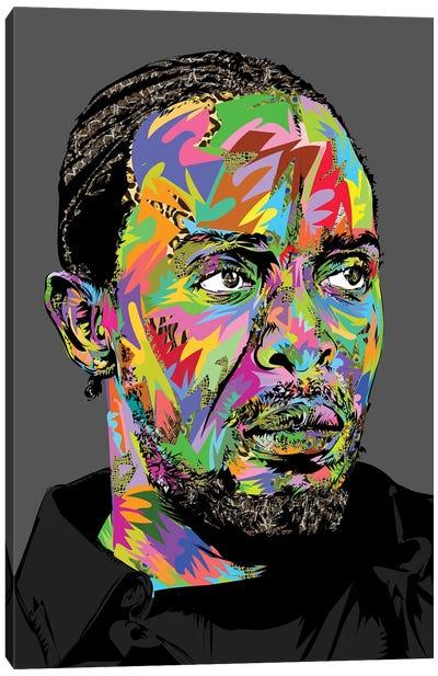 Omar Canvas Art Print
