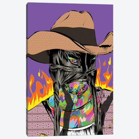 Orville Peck 2020 Canvas Print #TDR388} by TECHNODROME1 Canvas Art Print