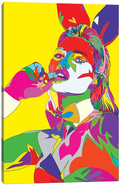 Kate Moss II Canvas Art Print