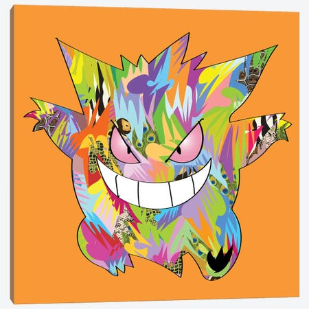 Poke Canvas Print #TDR390} by TECHNODROME1 Canvas Artwork