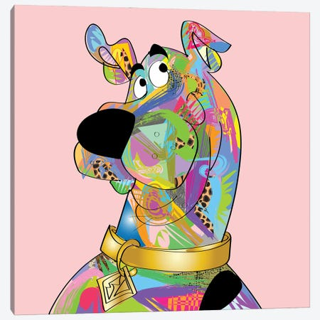 Scoobydooby Canvas Print #TDR392} by TECHNODROME1 Canvas Wall Art
