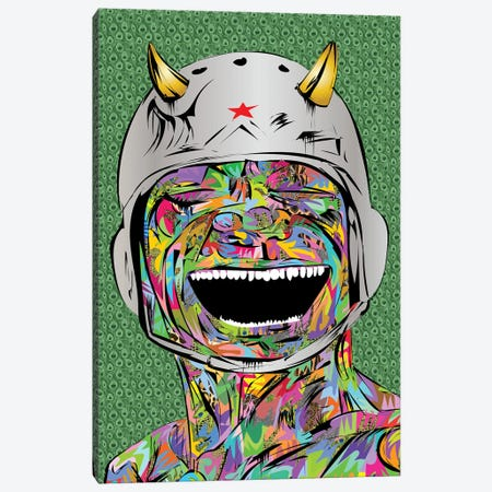 Smiling Devil Canvas Print #TDR394} by TECHNODROME1 Canvas Art Print
