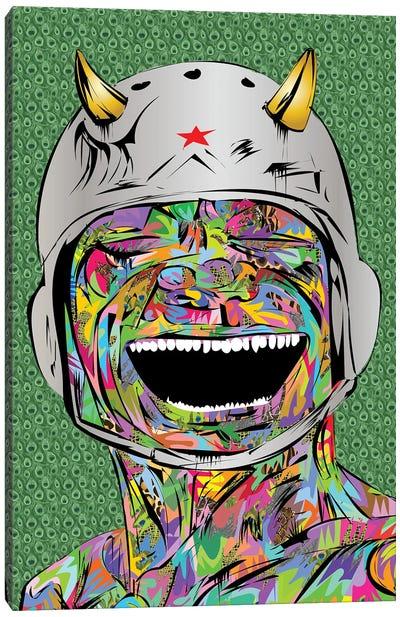 Smiling Devil Canvas Art Print