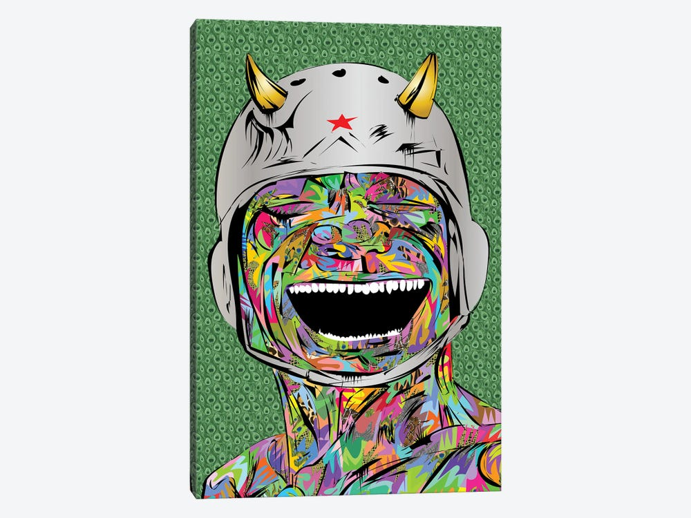 Smiling Devil by TECHNODROME1 1-piece Art Print