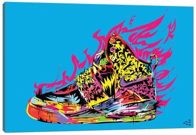 Air Yeezy Canvas Print #TDR3