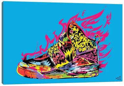 Air Yeezy Canvas Art Print