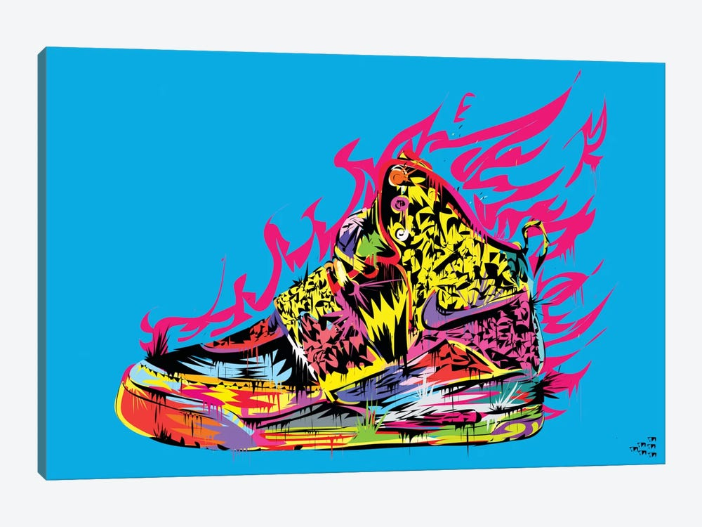 Air Yeezy by TECHNODROME1 1-piece Art Print