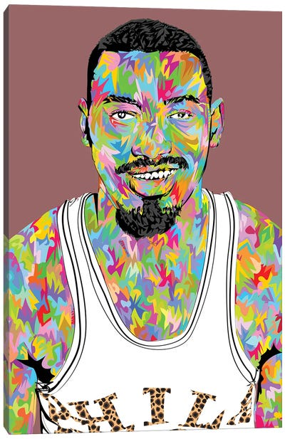 Wilt The Stilt Canvas Art Print
