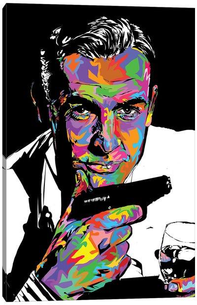 RIP James Bond 2020 Canvas Art Print