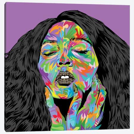 Lizzo Canvas Print #TDR405} by TECHNODROME1 Canvas Print