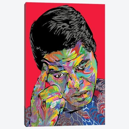 James Brown Canvas Print #TDR411} by TECHNODROME1 Canvas Art Print
