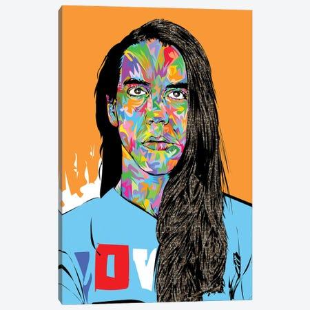 Anthony Kiedis Canvas Print #TDR412} by TECHNODROME1 Art Print