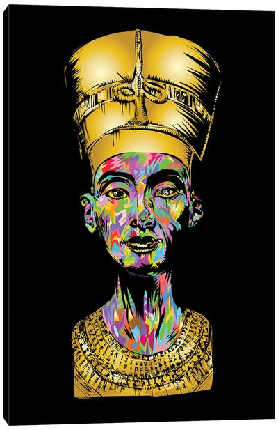 Nefertiti Canvas Art Print