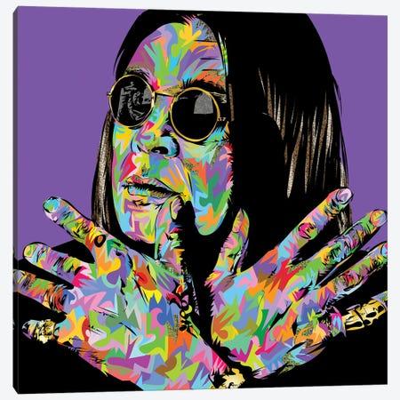 Ozzy Canvas Print #TDR418} by TECHNODROME1 Art Print
