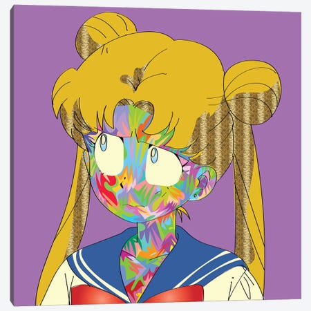 Sailor Canvas Print #TDR419} by TECHNODROME1 Canvas Art Print