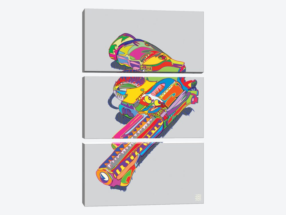 Magnum Force by TECHNODROME1 3-piece Canvas Print