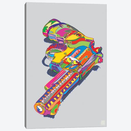 Magnum Force Canvas Print #TDR41} by TECHNODROME1 Canvas Artwork
