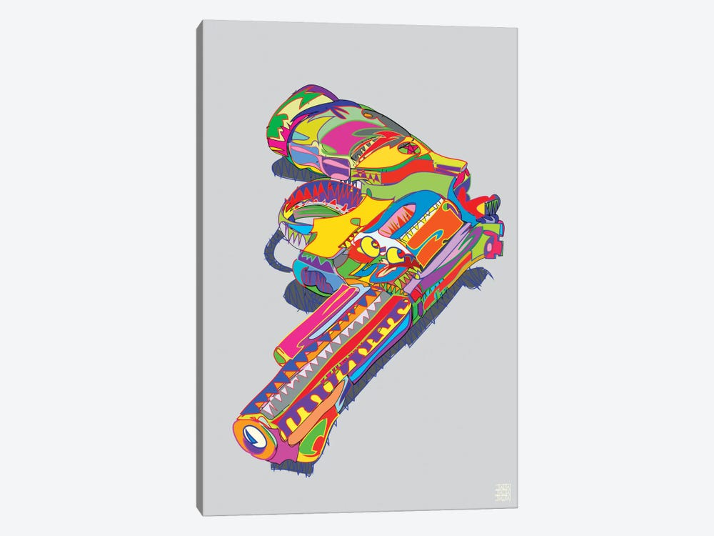 Magnum Force by TECHNODROME1 1-piece Canvas Art Print