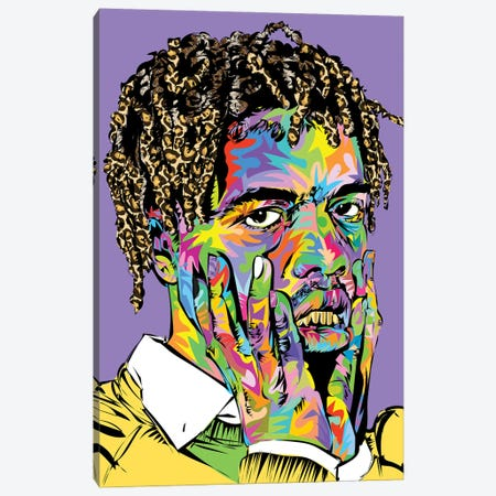 Ian Conner drome 2021 Canvas Print #TDR427} by TECHNODROME1 Canvas Art Print