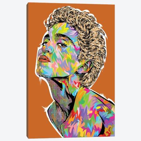 Madonna Canvas Print #TDR459} by TECHNODROME1 Canvas Art Print