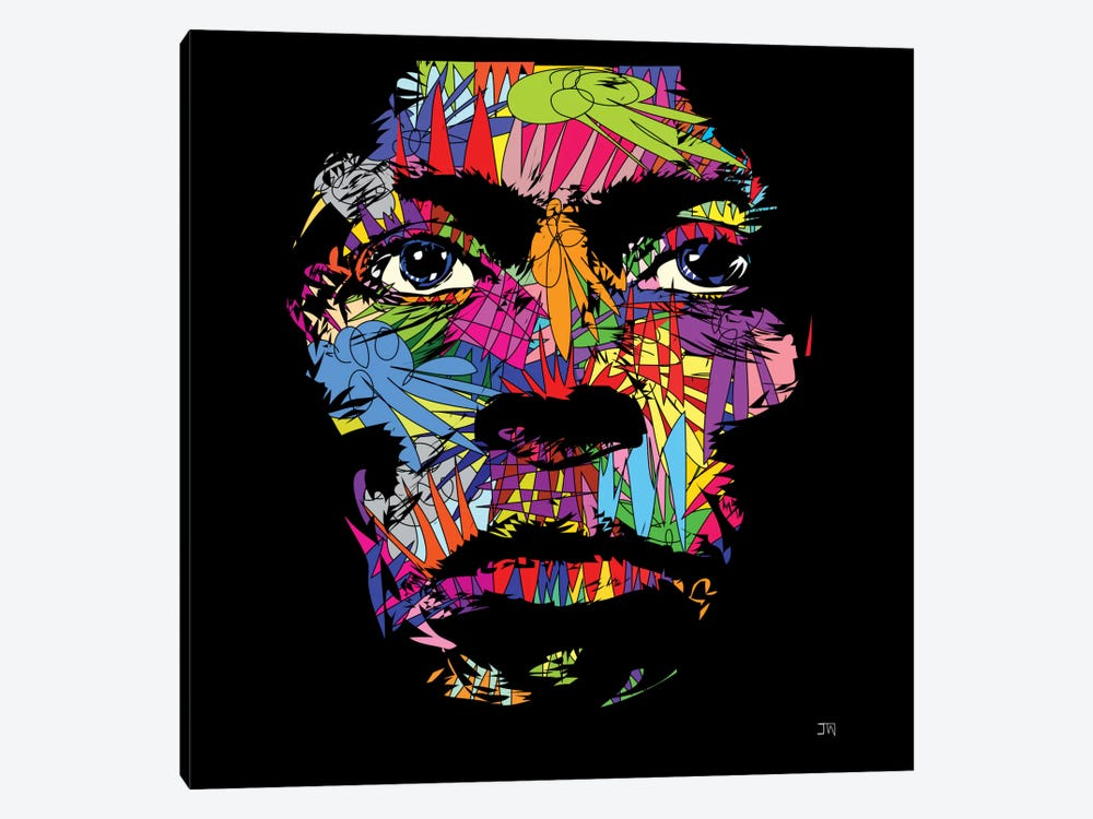 Miles Davis by TECHNODROME1 1-piece Canvas Art Print