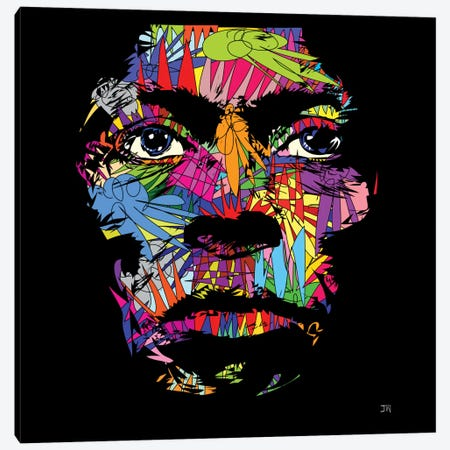 Miles Davis Canvas Print #TDR45} by TECHNODROME1 Canvas Art Print