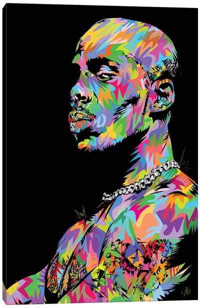 RIP DMX 2021 Canvas Art Print