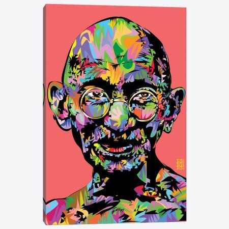 Ghandi 2021 Canvas Print #TDR464} by TECHNODROME1 Art Print