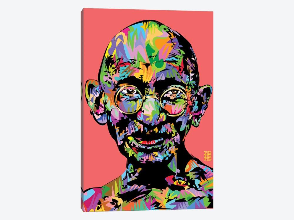 Ghandi 2021 by TECHNODROME1 1-piece Canvas Art Print