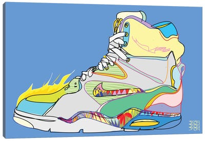 Nike Air Command Forces (Billy Ho's) Canvas Print #TDR46