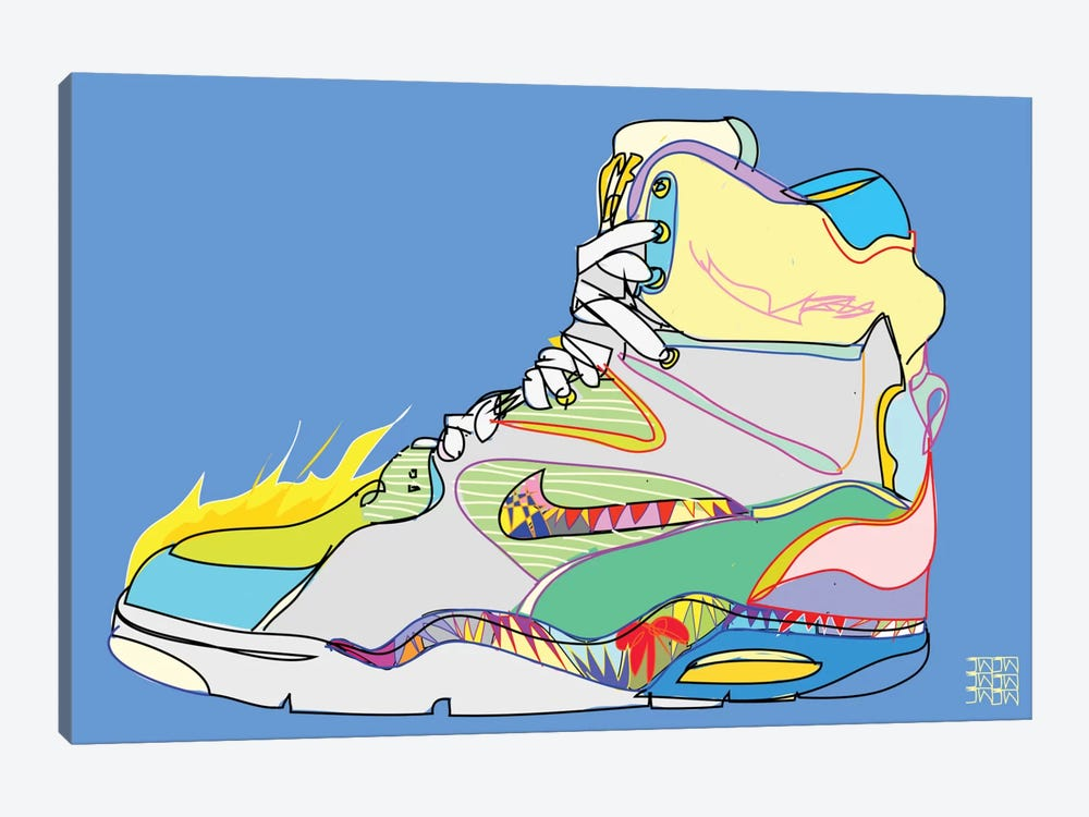 Nike Air Command Forces (Billy Ho's) by TECHNODROME1 1-piece Canvas Art