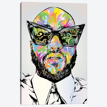 Virgil Canvas Print #TDR475} by TECHNODROME1 Canvas Art